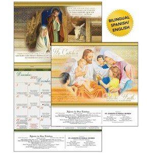 Catholic Faith Bilingual Calendar