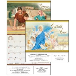 2021 Catholic Faith Calendar