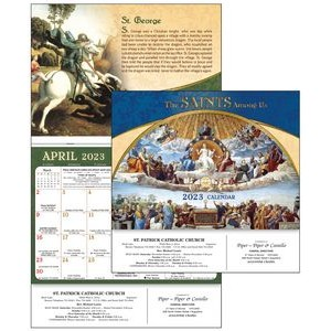 2021 The Saints Among Us Calendar