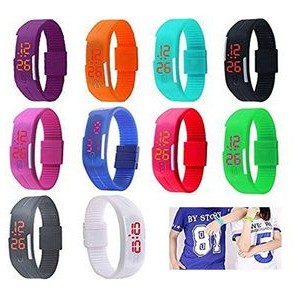 iBank(R) Silicone LED Wrist Watch